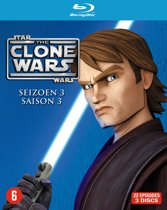 Star Wars: The Clone Wars - Seizoen 3 (Blu-ray)