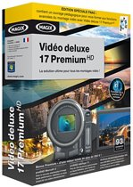 MAGIX Video Deluxex 17 Premium HD French 4017218709638