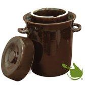 zuurkoolpot 5 liter (bruin/klassiek)