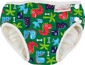 ImseVimse wasbare Zwemluier - Green Dino - XL 11-14 kg - groen - jongen