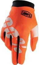 100% iTrack Cal-Trans fietshandschoenen oranje Maat XXL