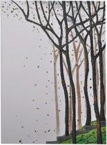 """Notitieboekje/dagboek """"Trees"""" – Crème/Bruin"""