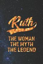 Ruth the Woman the Myth the Legend