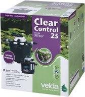 Velda Clear Control 25 + UV-C drukfilter met 7-standenkraan + UV-C Unit 9 W