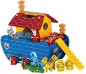 Playwood - Ark van noach blauw; inclusief dieren