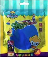 Blauwe Funny Gummy Airfoam putty Claydoll: 60 gram