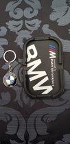BMW - Keychain - Accessoires - M3 - M5 - Bmw 5 serie - Metaal - Sleutelhanger - Auto - Dashboard Antislip Mat voor Telefoon en GPS - 2 in 1 set
