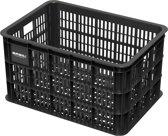 Basil Crate Large Fietskrat - 50 liter - Zwart