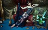 Glas schilderij - Malagoli 1 - Fellinio