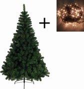 Everlands - Imperial Pine - Kunstkerstboom 180 cm hoog - Met losse kerstverlichting