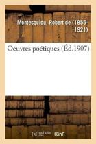 Oeuvres Po tiques