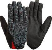 Lizard Skins fietshandschoenen Monitor 3.0 zwart/zilver mt 9