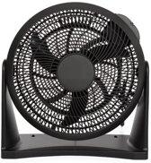 Trendy Design Ventilator | Staande- Wandventilator | Volledig koper gewikkeld |20 cm |30 Watt | Zwart