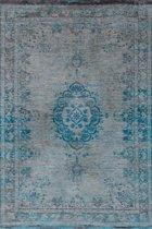 Louis de Poortere Vloerkleed Fading world - Blauw