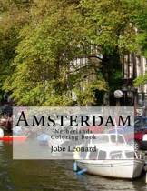 Amsterdam, Netherlands Coloring Book