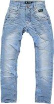 jongens Broek Cars jeans Jongens Broek - Stone/ bleach used - Maat 140 8718082732284