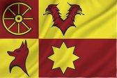 Vlag nieuwkoop nieuwkoopse Bootvlag Gemeente Nieuwkoop - 20 x 30 cm