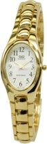 Q&Q dames horloge goudkleurig F495J014