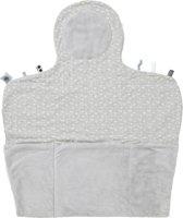 Snoozebaby Verkleedmatje Easy Changing (50x70cm) grijs