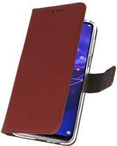 Huawei Mate 20 Bruin | Wallet Case Hoesje  | WN™