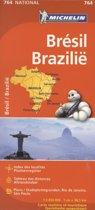 MICHELIN WEGENKAART 764 BRAZILIE