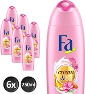 Fa Showergel Cream And Oil Magnolia Voordeelverpakking - 6 x 250ml
