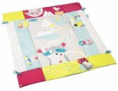 Badabulle B054001 Polyester, EVA (Ethyleen-vinyl-acetaat), Schuim Multi kleuren Babyspeelmat babyspeelrek en -mat