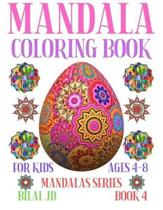 Mandala Coloring Book for Kids Ages 4-8