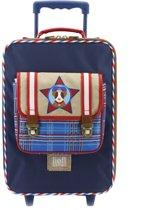 e9c561b9295 Post Package Trolley - Kinder Koffer - 44x31x15 cm - Blauw. Lief! Lifestyle
