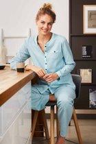 Dames pyjama Pastunette 20192-141-6 - Turqoise