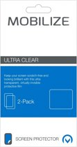 Mobilize Screenprotector voor Samsung Galaxy Mini 2 - Clear / Duo Pack