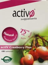 Activo Cranberry Plus Super *
