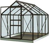 ACD serre 'Intro Grow Ivy' tuinbouwglas & aluminium zwart 5 m²