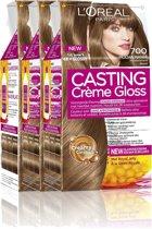 L'Oréal Paris Casting Crème Gloss 700 - Middenblond- Haarverf