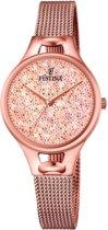 Festina Mademoiselle Swarovski crystals F20333/2 - Horloge - Dames - Rosékleurig - Ø 32 mm