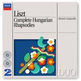 Liszt: Complete Hungarian Rhapsodies / Michele Campanella
