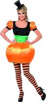 Pompoen jurkje - Halloween kostuum dames maat 40/42 (M)