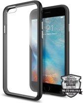 Spigen Ultra Hybrid voor Apple iPhone 6/6s Back Cover - Zwart