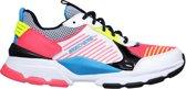 Skechers Street Status  Sneakers - Maat 29 - Meisjes - wit/roze/zwart/blauw/geel