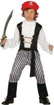 Piratenpak voor jongens 110-116 (5-6 jaar)