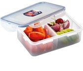 Lock&Lock Bento Lunchbox – Incl. verdeler – 1L - Transparant