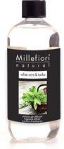 Millefiori Milano Natural navulling White Mint & Tonka