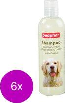 Beaphar Shampoo Glanzende Vacht Hond - Hondenvachtverzorging - 6 x 250 ml