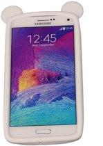 Wit Bumper Beer Medium Frame Case Hoesje voor Samsung Galaxy A8