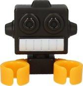 Robot Tandenborstel Accessoire Houder – 7x5x3cm | Badkamerartikelen Bewaren | Tandenpoetsen | Wastafel