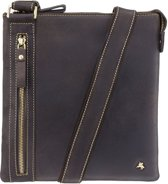 Visconti Hunter leather Taylor Messenger bag - 16111bn