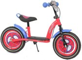 Spiderman Metalen Loopfiets - Rood - 12 inch