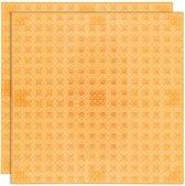 Strictly BRIKS LBP322TTO Bouwplaat 32x32 Transparant Oranje Duopak
