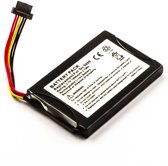 Battery TomTom Go 5000, Li-ion, 3,7V, 1000mAh, 3,7Wh
