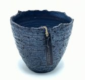 Zwart Blauwe pot Stelvio